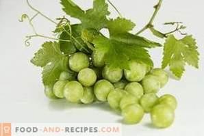 Como armazenar uvas