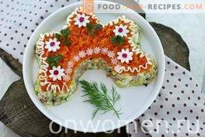 Salada Russa de Beleza com Frango