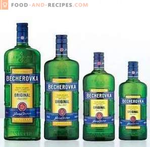 Wie trinkt man Becherovka
