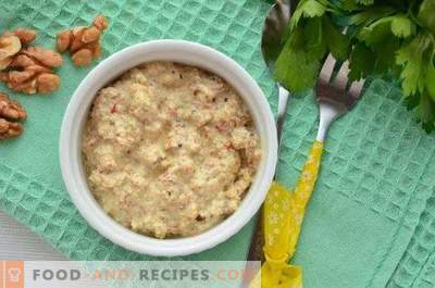 Nut Bazhe Sauce