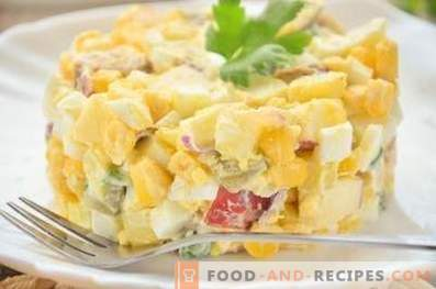 German potato salad with sausage