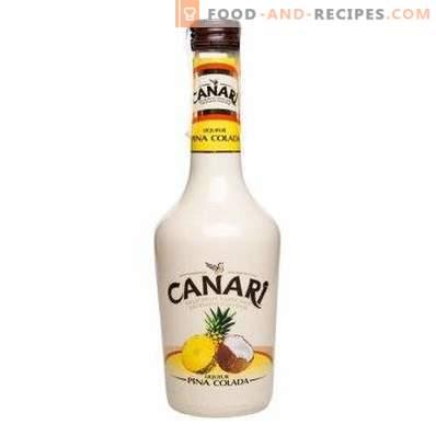 Wie trinkt man Pina Colada-Likör