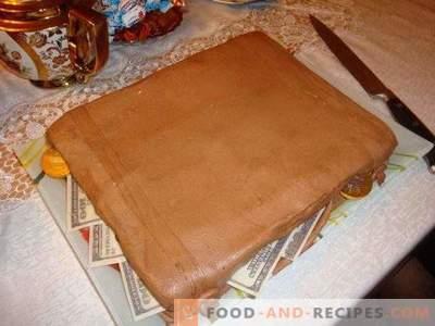 Chocolade marshmallow mastiek