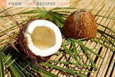 Come conservare cocco