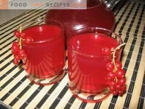 Vinul cu coacăze roșii