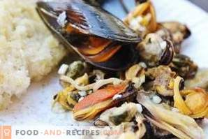 How to store mussels