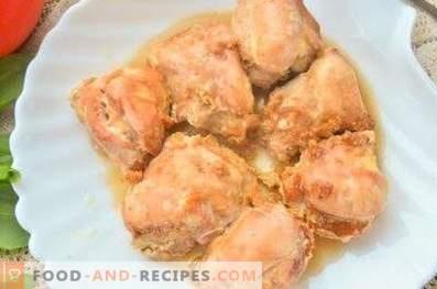 Piščanec v smetani in sojini omaki v pečici
