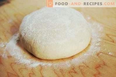 Тесто за пица без яйца