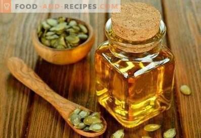 Масло од семе од тиква: корисни својства и контраиндикации