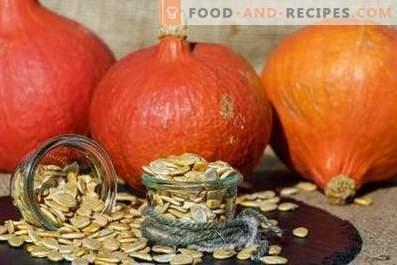 Como guardar sementes de abóbora
