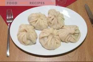 How to cook khinkali