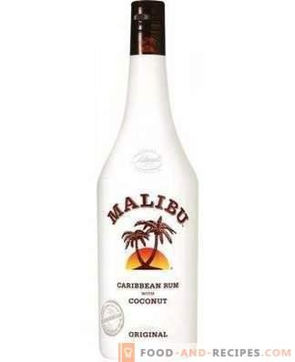 Como beber licor Malibu