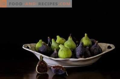 Figs - propriedades úteis e contra-indicações
